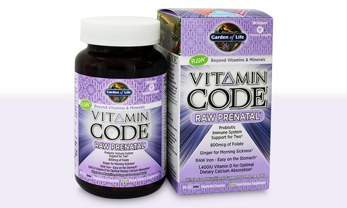 Up To 37 Off On Prenatal Multivitamin 90 Ct Groupon Goods