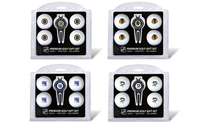 c54aed804d6 Up To 23% Off on NHL Ball and Divot Tool Gift Set