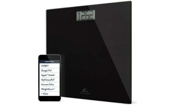 Weight Gurus Digital Bathroom Scale With Large Display Groupon - Large display digital bathroom scales