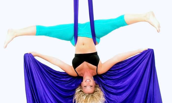 CRAVE: The Fitness Factory - Edgehill: 1, 3, or 5 Aerial Yoga, Aerial Fitness, or Dance Fitness Classes at CRAVE: The Fitness Factory (Up to 54% Off)