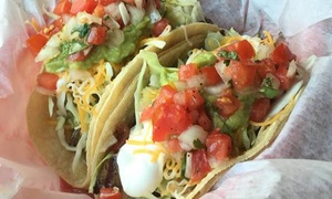 California Tacos To Go: $3.50 for $5 Worth of Casual Mexican Food at California Tacos To Go