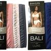 Bali Women's Luxe Cotton Hi-Cut Panties (6-Pack)