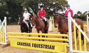 Gransha Equestrian Centre: 30- or 60-Minute Riding Lesson for One or Two at Gransha Equestrian Centre (Up to 50% Off*)