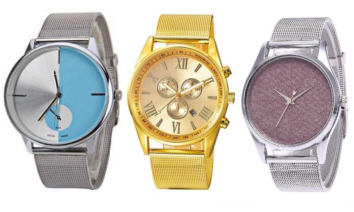 Women's Mesh Strap Watch
