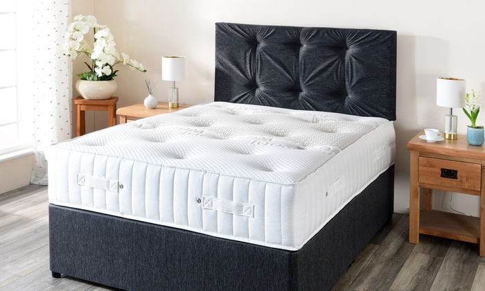 Wool Comfort Pocket Sprung Memory Foam Mattress (£185)