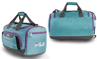 5398594ece26 Shop Groupon Fila Cypress Small Duffel Bag
