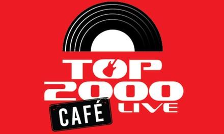 Tickets voor het Top 2000 Live Café incl. gratis tshirt van 27 t/m 30 december 2018 op het Malieveld in Den Haag