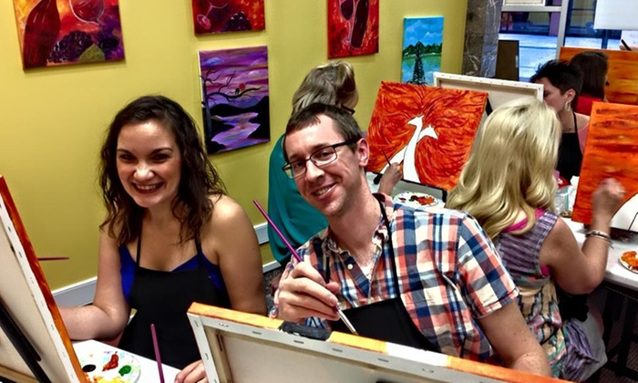 Cheers N Paint - Cary: BYOB Painting Class for One at Cheers N Paint (Up to 44% Off)