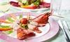 Menu en 4 services pour 2 personnes à 65 € au restaurant L'Atelier Gourmand