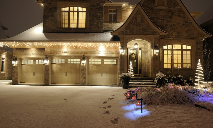 Wilkerson's Handyman Service - Austin: Holiday-Light Installation and Removal for 1- or 2-Story Home from Wilkerson's Handyman Service (Up to 78% Off)