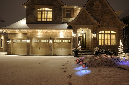 Holiday-Light Installation and Removal for 1- or 2-Story Home from Wilkerson's Handyman Service (Up to 78% Off)