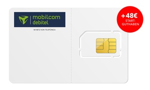 handyflash: mobilcom-debitel Allnet-Flat 1 GB mit 50 MBit/s in den Netzen von Telefónica für 6,99 €/Monat* + 48 € Startguthaben