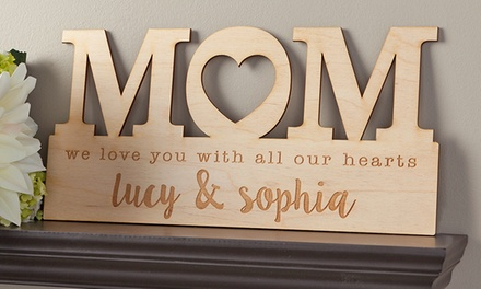 One, Two, or Four Custom Home Decor Signs from Personalized Planet (Up to 67% Off)