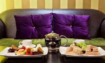 Afternoon Tea or Sparkling Afternoon Tea for Two or Four at Hallmark Hotel Birmingham Strathallan (Up to 67% Off)