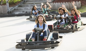 The Go-Kart Track: Four Go-Kart Races and Two Rounds of Mini Golf at The Go-Kart Track (Up to 64% Off)