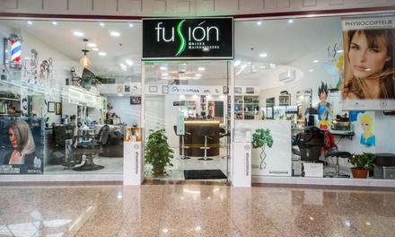 2 o 4 sesiones de peluquería completa y 1 corte desde 14,90 € en Fusión Unisex Hairdressers