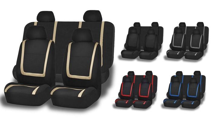Cloth Car Seat Cover Set 3 Piece