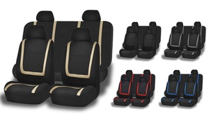 Cloth Car Seat Cover Set (3-Piece)