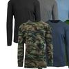 Men's Waffle Knit Thermal Shirt Set (4-Pack)