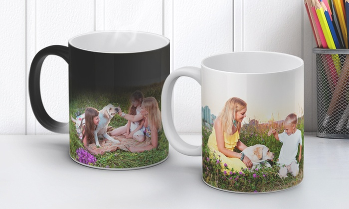 80 Off Personalized Magic Photo Mugs Or