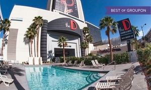 Downtown Las Vegas Hotel & Casino at The D Las Vegas, plus 6.0% Cash Back from Ebates.