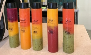 Früt Marbled Juicery: $7 for One Waffle with Marbled Fruit Juice at Früt Marbled Juicery (Up to $16.30 Value)