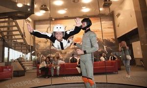 Speedly: 1,5 min Lotu w tunelu aerodynamicznym z opieką, szkoleniem i sprzętem za 99 zł w SpeedFly Wrocław Indoor Skydiving
