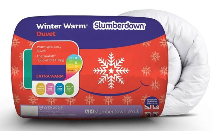 Slumberdown Winter Warm Duvet from £12