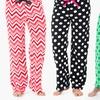 Sociology Women's Plush Pants (4-Pack) (Size S)