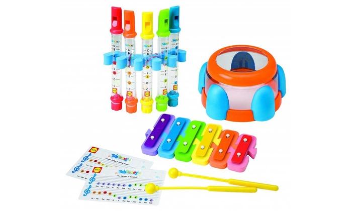 Groupon Goods Global GmbH: Set strumenti musicali per la vasca da bagno Alex Tub Tunes