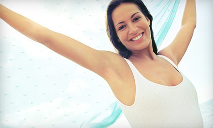 Shoreline Medical Spa - Old Lyme: Three Laser Hair-Removal Treatments on a Small, Medium, or Large Area at Shoreline Medical Spa (56% Off)