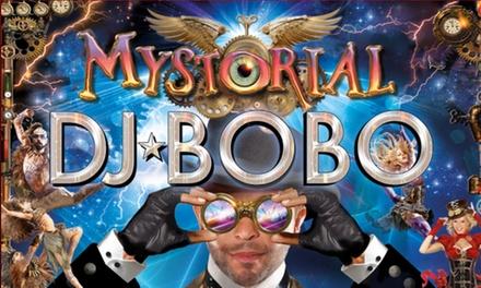 """DJ BoBo """"Mystorial"""" Tour 2017 in 15 Städten, u.a. Köln, Dortmund, Oberhausen, Frankfurt, München, HH (bis zu 37% sparen)"""