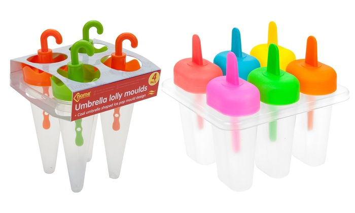 Up To 73% Off Colourful Lolly Moulds | Groupon