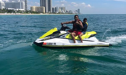 $99 for One-Hour Jet-Ski Rental and Two Chair Rentals from Miami BeachSports in Miami Beach ($190 Value)