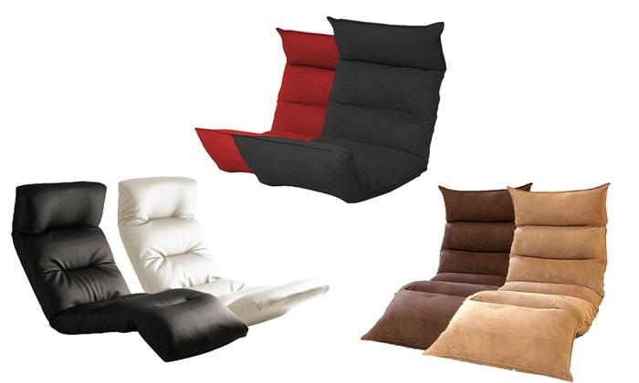 faltbares sofa mit memory foam groupon. Black Bedroom Furniture Sets. Home Design Ideas