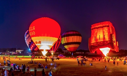 Admission for One, Two, or Four to Kyle Pie in the Sky Hot Air Balloon Festival (Aug 31-Sept 2) (Up to 56% Off)