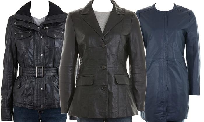 9c1969bc283 Ladies  Woodland Leather Jackets