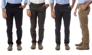Vertical Sport Men's Slim-Fit Chino Pants (2-Pack)