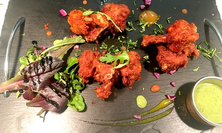 FiveCourse Punjabi Tasting Menu for Up to Four at Canal Square