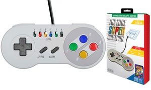 The Edge Super Gamepad for SNES Mini, NES Mini, and PC