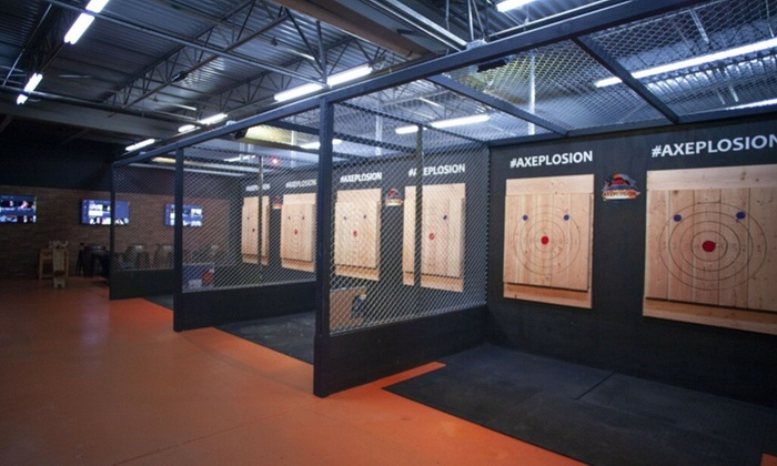 Up To 33 Off Axe Throwing Sessions