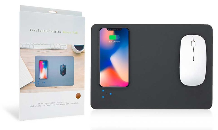 One or Two Aquarius Wireless Charging Mouse Mats from £12.95