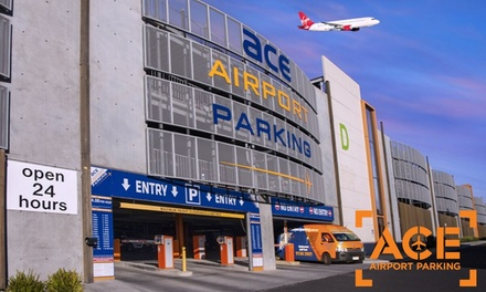 Airport Parking: 1 ($13.20), 2-3 ($35), 4-7 ($60) or 8-14 Calendar Days ($105) at Ace Airport Parking (Up to $175 Value)