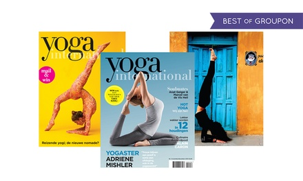 6 of 12 nummers Yoga International magazine abonnement stopt automatisch