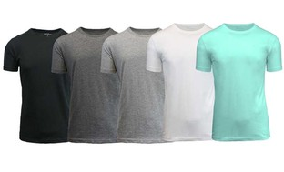 Men's Egyptian Cotton Crew Neck Undershirts (3-Pack)
