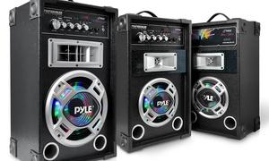 Pyle Disco Jam Dual Bookshelf Karaoke Stereo Speaker Systems at Pyle Disco Jam Dual Bookshelf Karaoke Stereo Speaker Systems, plus 6.0% Cash Back from Ebates.