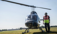 10-, 45- or 75-Kilometre Helicopter Flight with Adventure 001 (50% Off)