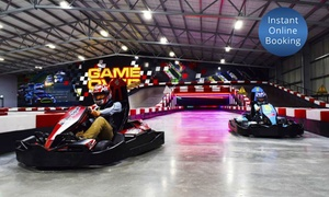 Game Over: Go-Karting for One ($25), Two ($49), Four ($95) or 20 People ($459) at Game Over, Queenstown (Up to $780 Value)