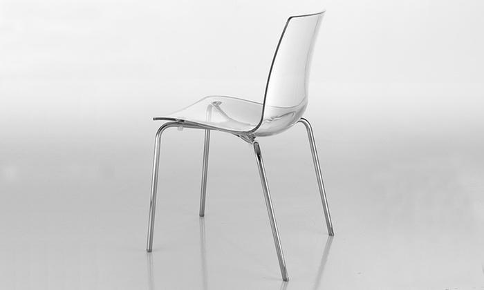 Set di sedie by tomasucci groupon goods