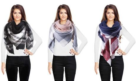 1 o 2 bufandas extra grandes para mujer